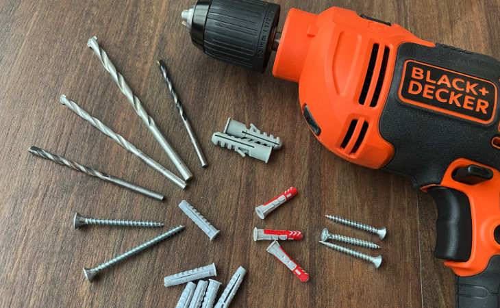 Drill bit and plugs