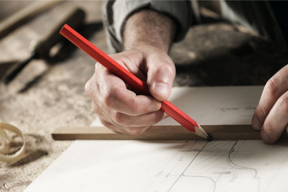 Why Are Carpenters' Pencils Flat?